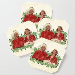 Bob & Betty (White Christmas) Coaster