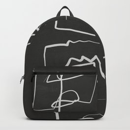 Abstract line art 12/2 Backpack