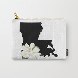 Louisiana Silhouette Carry-All Pouch