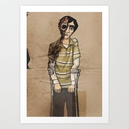 Gus Jr. Art Print