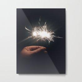 sparklers Metal Print