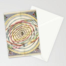 Harmonia Macrocosmica Planetary Orbits Stationery Cards