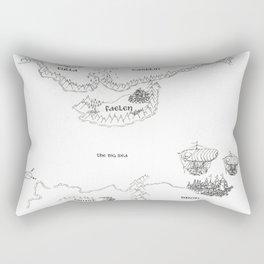 STORM SIREN Original Map (bk 1) Rectangular Pillow