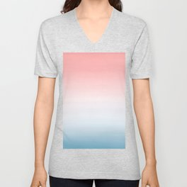 Pantone Ombre 2016 Color of The Year Unisex V-Neck