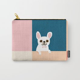 Little_French_Bulldog_Love_Minimalism_001 Carry-All Pouch