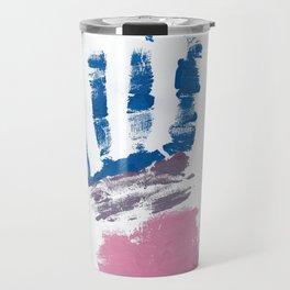 Bisexual hand Travel Mug