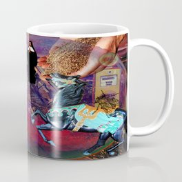 Fossil Fuel Cemetery Coffee Mug