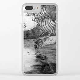 Bats of the Night, Bats Take Flight Clear iPhone Case
