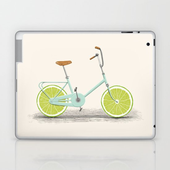 Acid (Blue) Laptop & iPad Skin