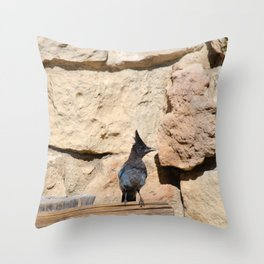 Resident Jay - North Rim Grand Canyon Lodge Throw Pillow