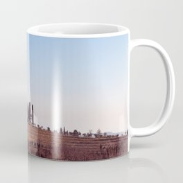 Winter morning in the vineyards of Collio, Italy Coffee Mug