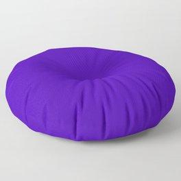 Yahoo Purple - solid color Floor Pillow
