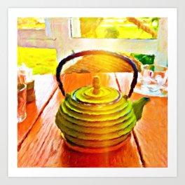 The Healing Teapot Art Print