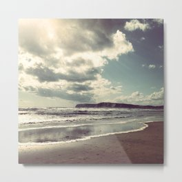 Windblown beach Metal Print