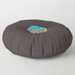 Kindness, Justice & Humility Floor Pillow