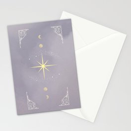 Lavender Moon Stationery Cards