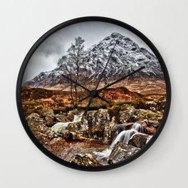 Stob Dearg. Wall Clock