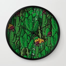 Cactus! Wall Clock
