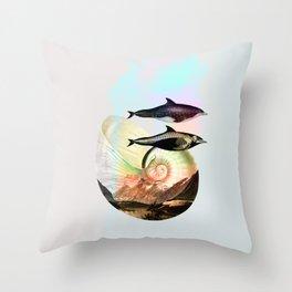 Steno rostratus Throw Pillow