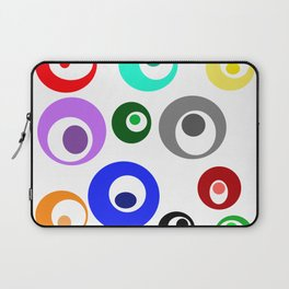 Cirlces within Circles Laptop Sleeve