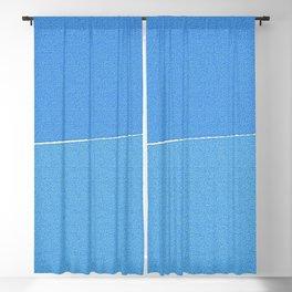 Minimalist Blue Sky Blackout Curtain
