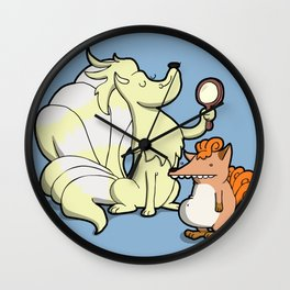 Number 37 & 38 Wall Clock