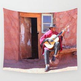 Pueblo de Machuca Wall Tapestry