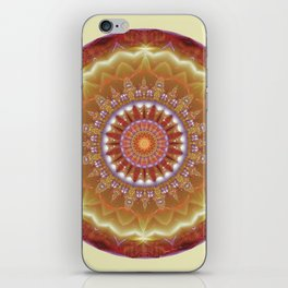 Mandalas from the Heart of Peace 12 iPhone Skin