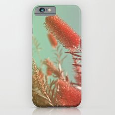 Red Fluffy Plant iPhone 6s Slim Case