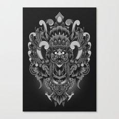 Majestic Garuda Canvas Print