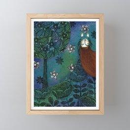 My Summer Stars Framed Mini Art Print