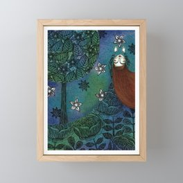 My Summer Stars Framed Mini Art Print