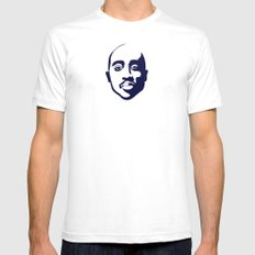All Eyez On Me Alternative Art White SMALL Mens Fitted Tee