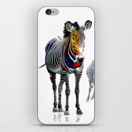 Stand Out Zebra iPhone Skin