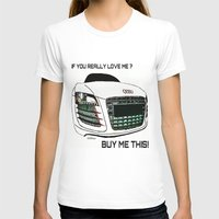 audi T-shirts featuring Zaklassic - Z-06A by Zak Ashton