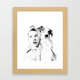 Goofy'n'me Framed Art Print