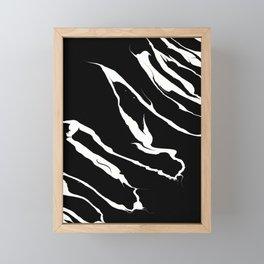 Electric Pulse Framed Mini Art Print