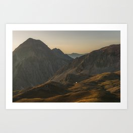 Mountain shelter, 2017 Art Print