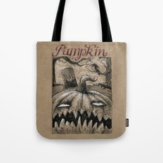 Pumpkin (Drawlloween 1/31) Tote Bag