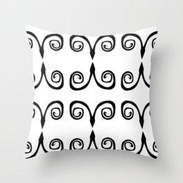 SérieArabesque-04 Throw Pillow
