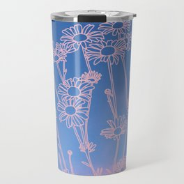 Daisies in the clouds Travel Mug