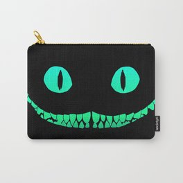 Cheshire black smile Carry-All Pouch