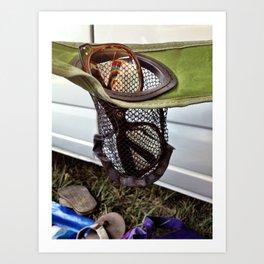 Hippe Reflections at Bonnaroo Art Print