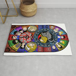 FMA Stained Glass Rug