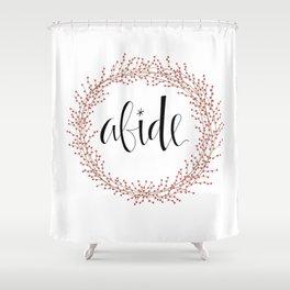 Abide Shower Curtain