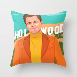 Once Upon A Time in Hollywood Throw Pillow