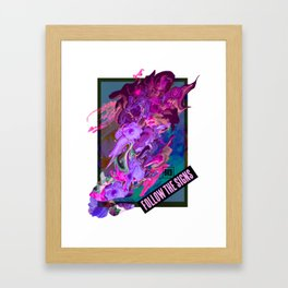 Follow the Signs Framed Art Print