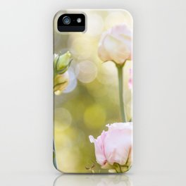 Rose Bokeh iPhone Case