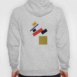 Geometric Abstract Malevic #4 Hoody