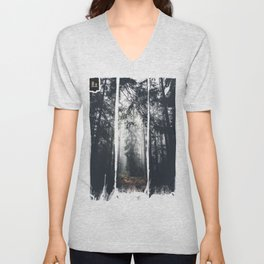 Dark paths Unisex V-Neck